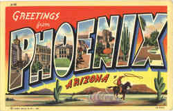Greeting from Phoenix Large Letter