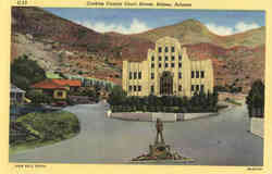 Cochise County Court House Postcard