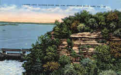 Lovers Leap, Illinois River and Dam
