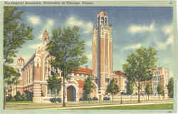 Theological Seminary, University of Chicago Postcard