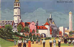 Belgian Village - 1933 Chicago Exposition