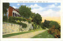 Palisades South Prospect St Postcard