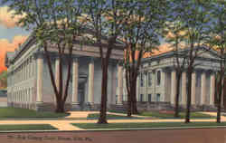 Erie Country Court House Postcard