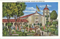 Mission Trails Building, Golden Gate Exposition
