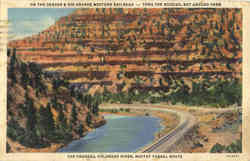The Pagodas, Moffat Tunnel Route Postcard