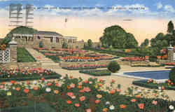 A Section of the Rose Garden, Rock Springs Park