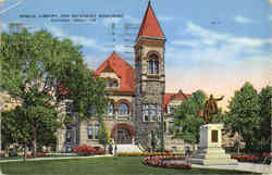 Public Library and Mc Kinley Monument