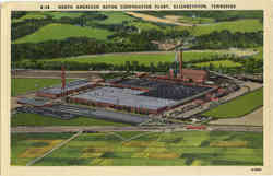North American Rayon Corporation Plant Postcard