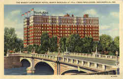 The Marott Apartment Hotel, North Meridian at Fall Creek Boulevard