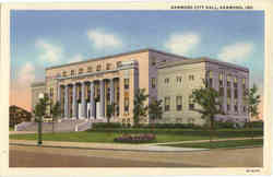 Hammond City Hall Postcard