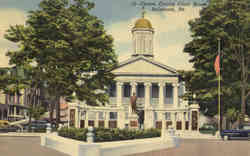 Centre County Court house Postcard
