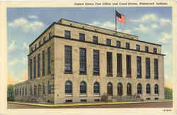 United States Post Office and Court House Postcard