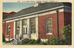 U. S. Post Office, Clemson College