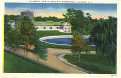 Partial View of Municipal Waterworks Postcard