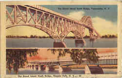 The Grand Island South & North Bridge multi view
