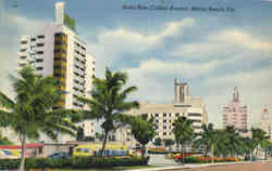 HOtels on Hotel Row, Collins Avenue