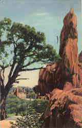 Vista in The Garden of the Gods