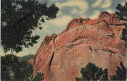 The Kissing Camels on The Gate Rock, Garden of the Gods