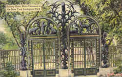 Rainey Gate, Main Entrance to New York Zoological Park