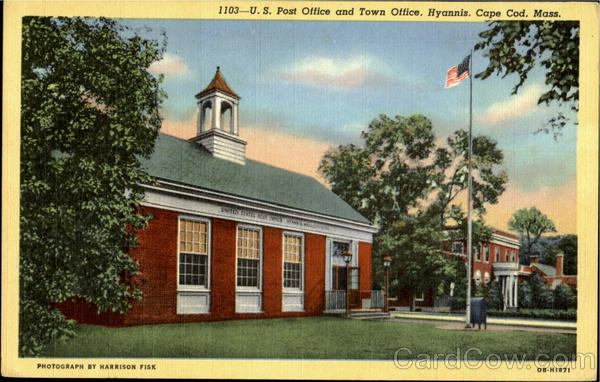 U.S.Post Office and Town Office, Hyannis Cape cod Massachusetts