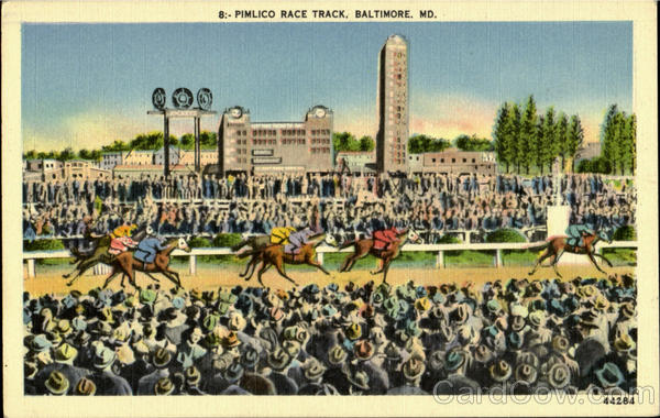 Pimlica Race Track Baltimore Maryland