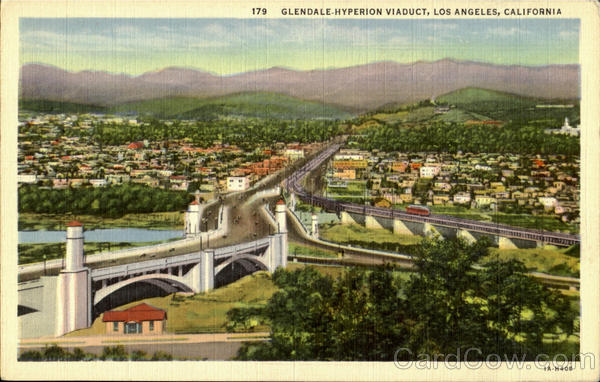 Glenale-Hyperion Viaduct Los Angeles California