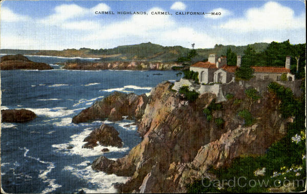 Carel Highlands Carmel California