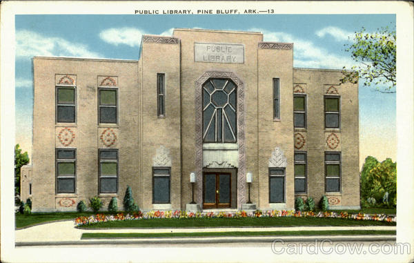 Public Library Pine Bluff Arkansas