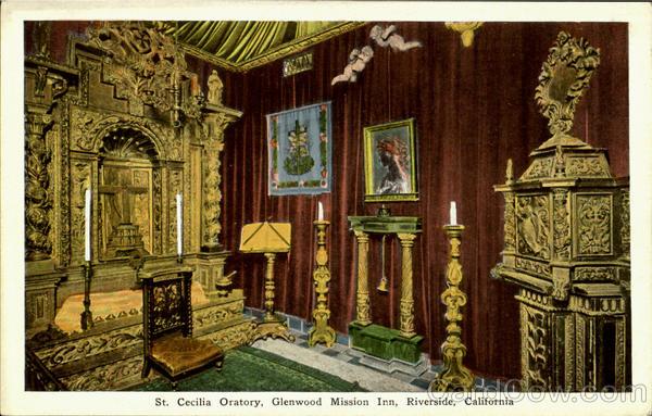 St Cecilia Oratory Glenwood Mission Inn