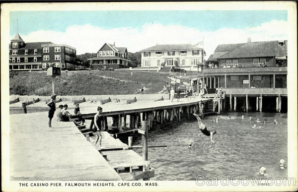 The Casino Pier, Falmouth Heights Cape Cod Massachusetts