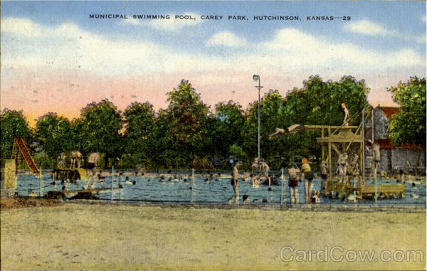 Municipal Swimming Pool Carey Park Hutchinson Kansas