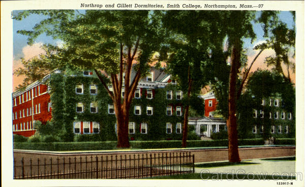 Northrop And Gillett Dormitories, Smith College Northampton Massachusetts