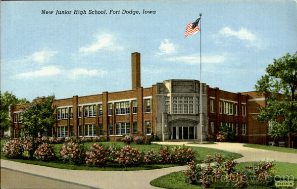 New Junior High School Fort Dodge Iowa
