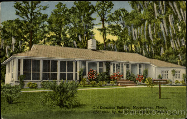 Old Dominion Buildung Moosehaven Florida