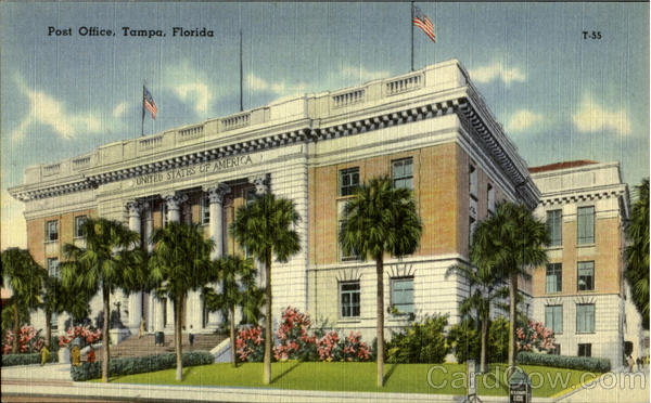 Post Ofice Tampa Florida