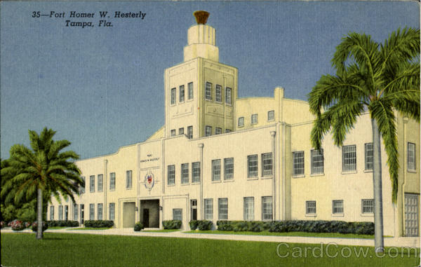 FORT HESTERLY ARMORY, Fort Homer W. Hesterly Tampa Florida