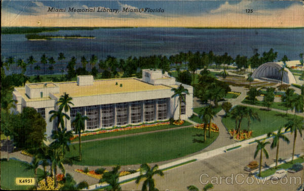 Miami Memorial Library Florida