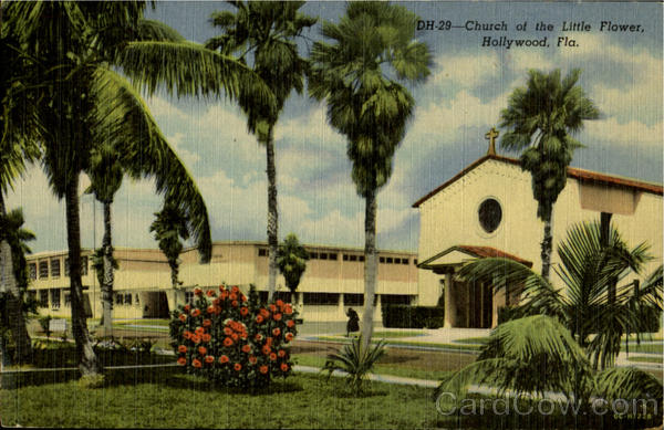Church of the Little Flower Hollywood Florida