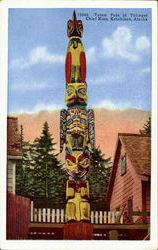 Totem Pole of Thliget Chief Kian