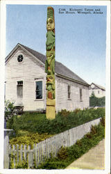 Kicketti Totem and Sun House