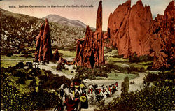Indian Ceremonies in Garden of the Gods