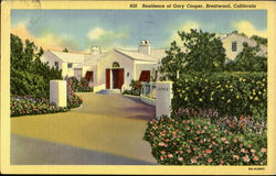 Residence of Gary cooper, ANGELESS