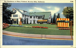 The Residentce of Mary Pickford