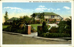 Residence Of Marion Davies