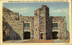 Whitefoce Mountain Castle, Summit of Whiteface Mountain