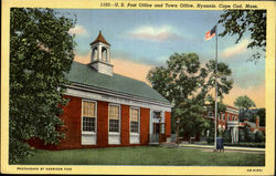 U.S.Post Office and Town Office, Hyannis