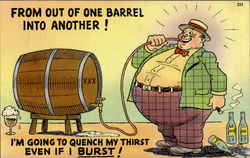 From Out Of One Barrel Into Another