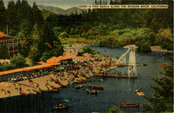 A Fine Beach, Along The Russian River