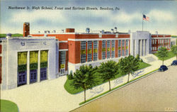 Northwest Jr. High School, Front and Springs Streets