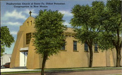 Presbyterrian Church of Santa Fe. Oldest Protestant Congregation in